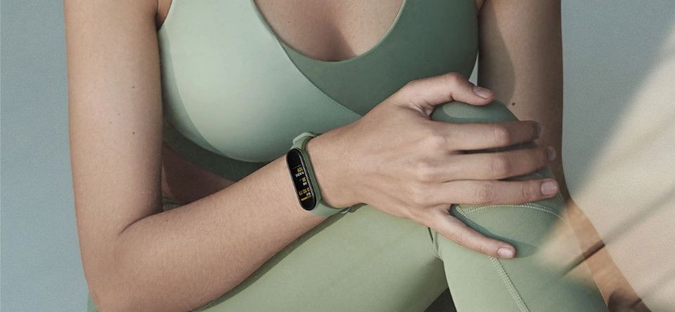 Xiaomi Mi Smart band 5 NFC режим йоги