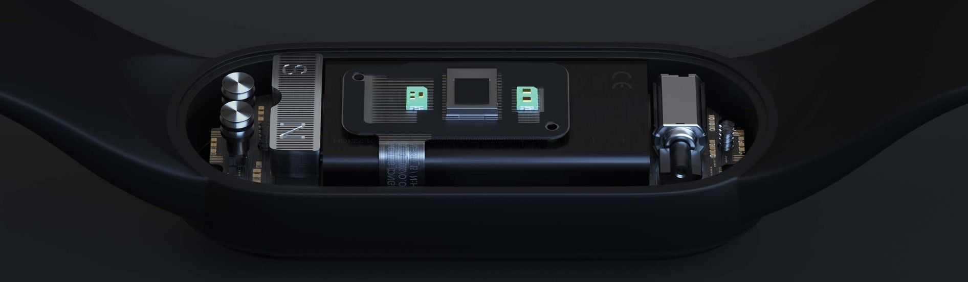 Xiaomi Mi Smart band 5 NFC изнутри