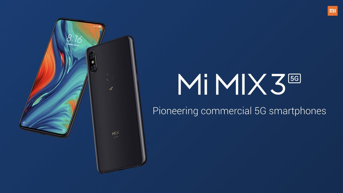 смартфон Xiaomi Mi Mix 3 5G обзор
