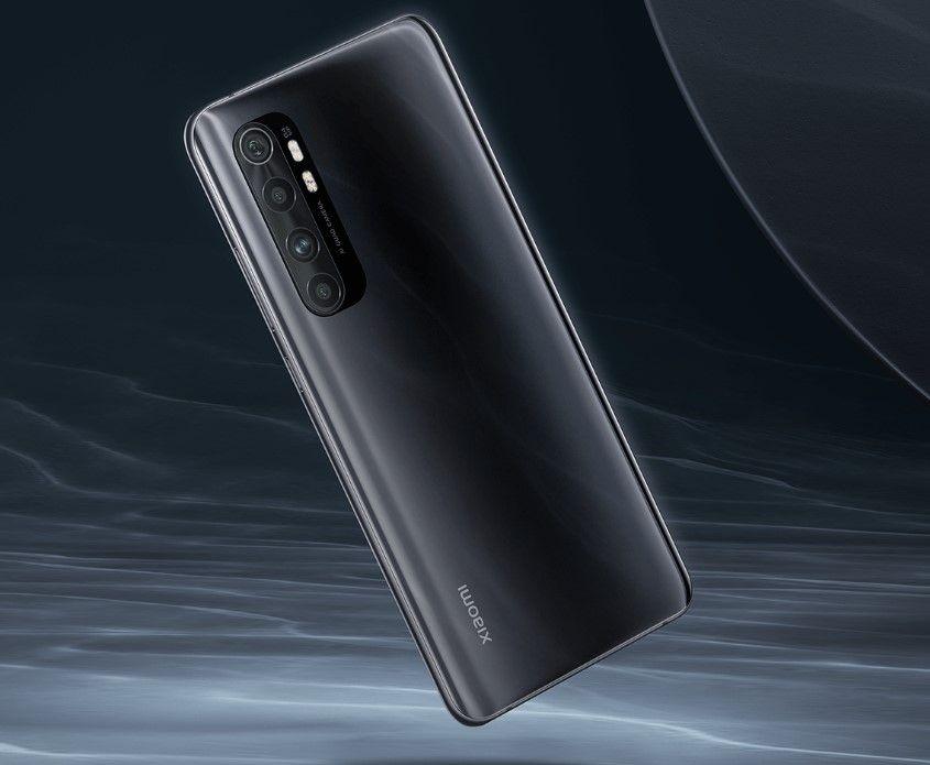 Xiaomi Mi Note 10 Lite черный