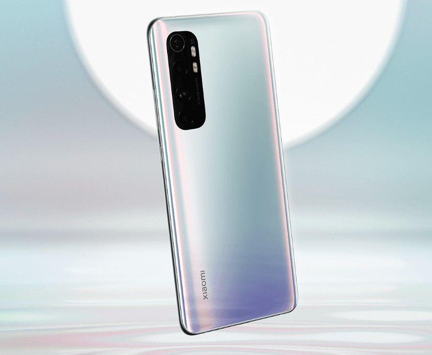 Xiaomi Mi Note 10 Lite белый