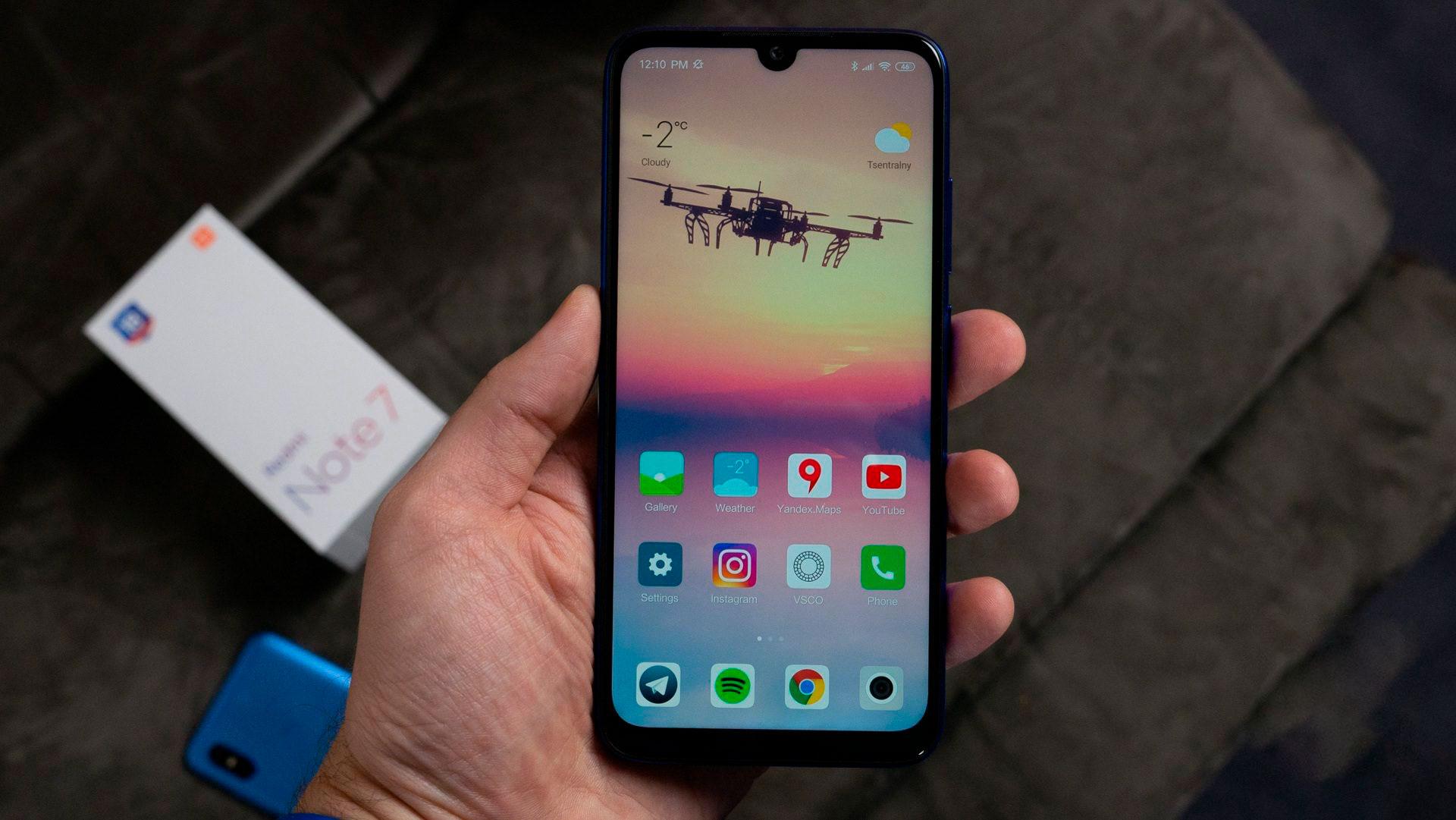 Xiaomi Redmi Note 7 камера фото