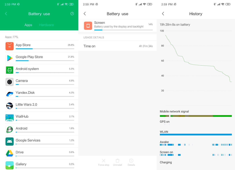 Xiaomi Redmi Note 7 батарея фото