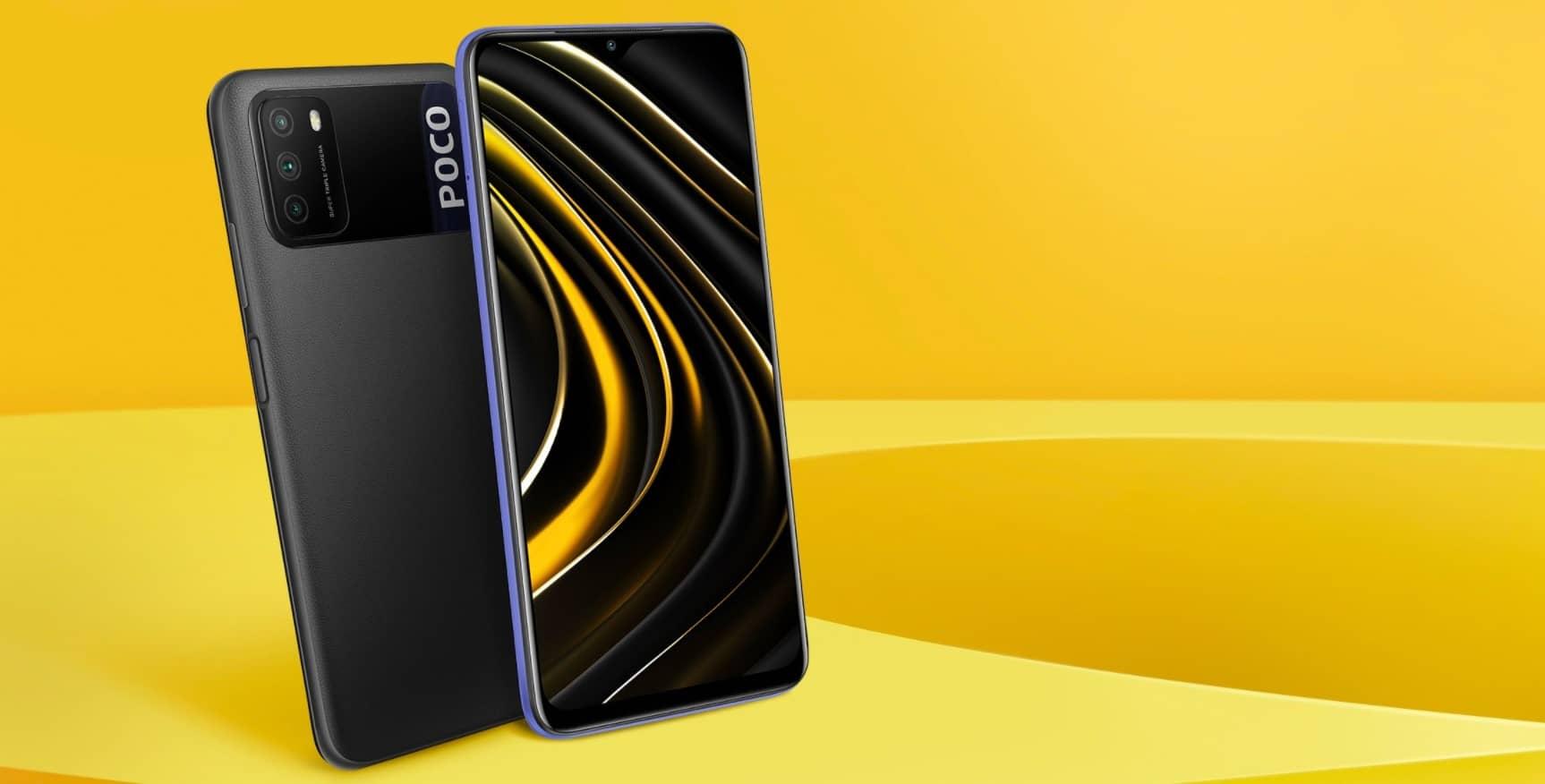 Xiaomi POCO M3 дисплей