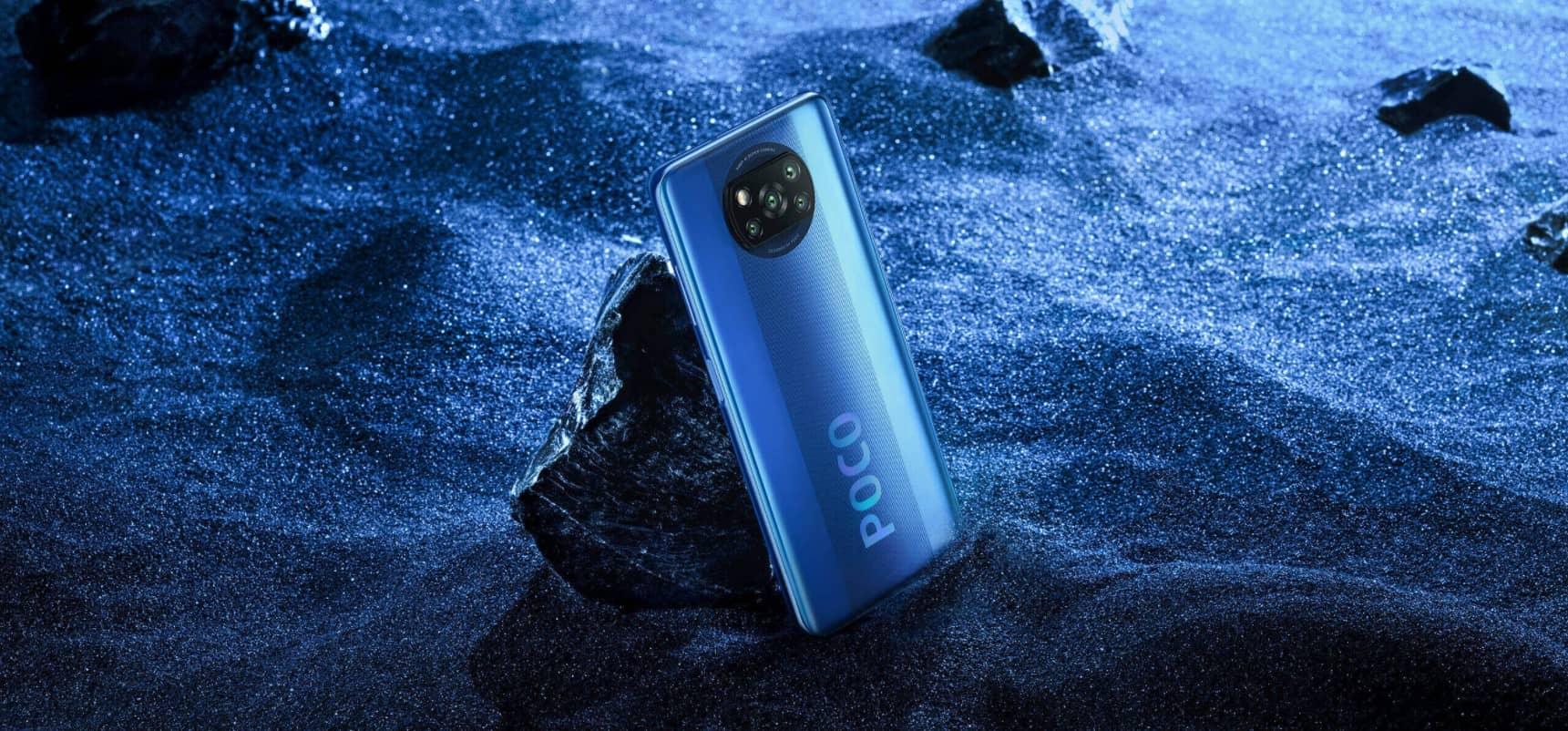 Xiaomi Poco X3 NFC Синий Кобальт