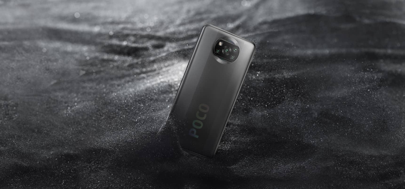 Xiaomi Poco X3 NFC Серая тень