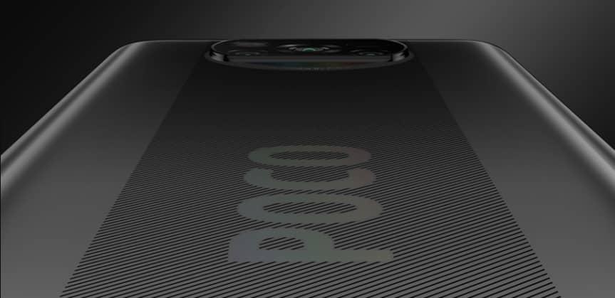 Xiaomi Poco X3 NFC задняя крышка