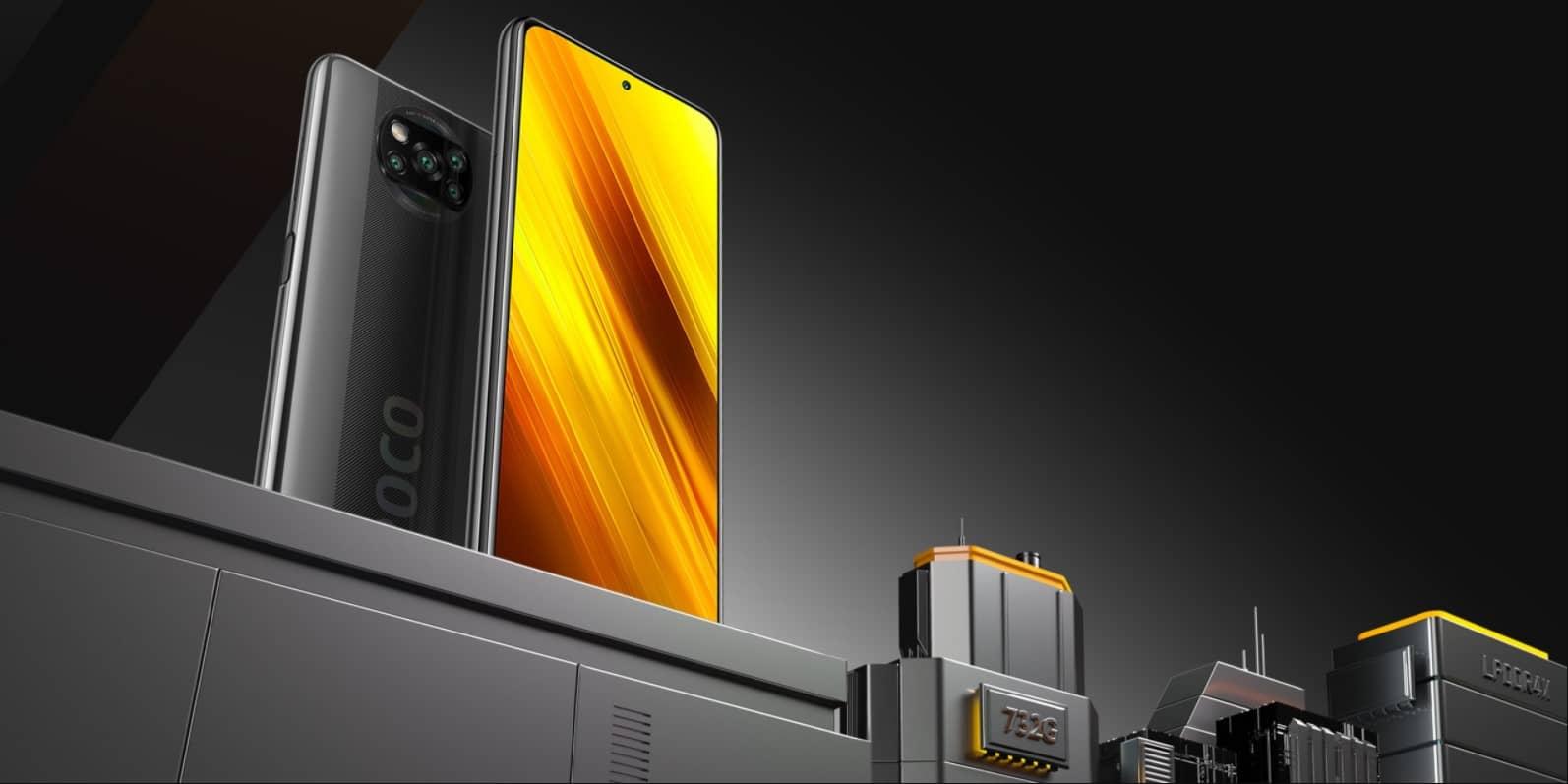 Xiaomi Poco X3 NFC процессор