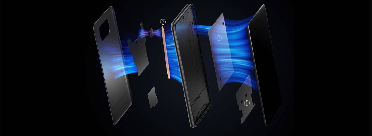 Xiaomi Poco X3 NFC процесс охлаждения