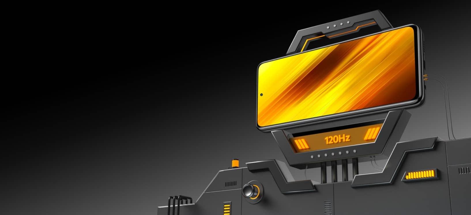 Xiaomi Poco X3 NFC экран