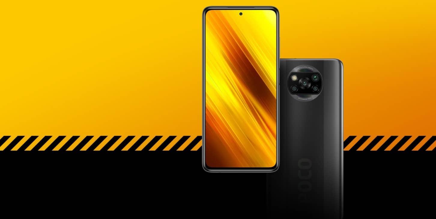 Xiaomi Poco X3 NFC дизайн