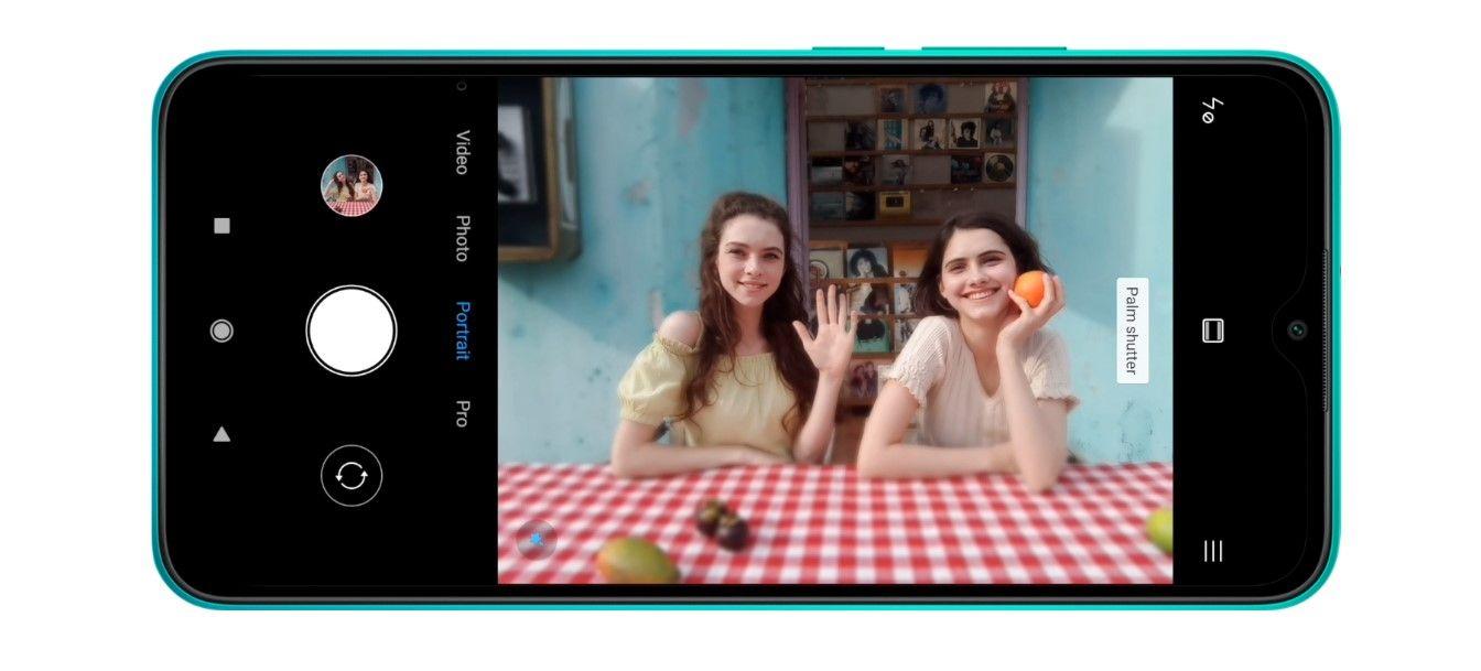 Xiaomi Redmi 9 фронтальная камера