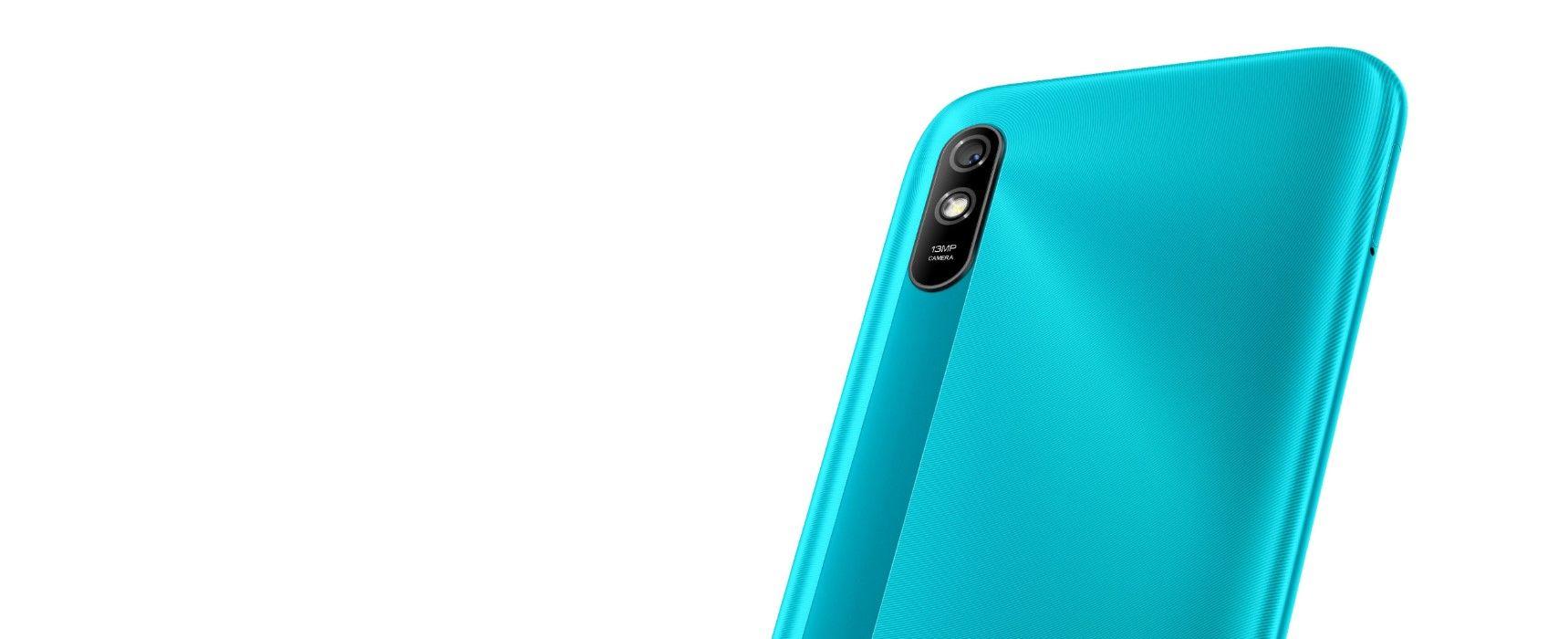 Xiaomi Redmi 9A задняя текстура