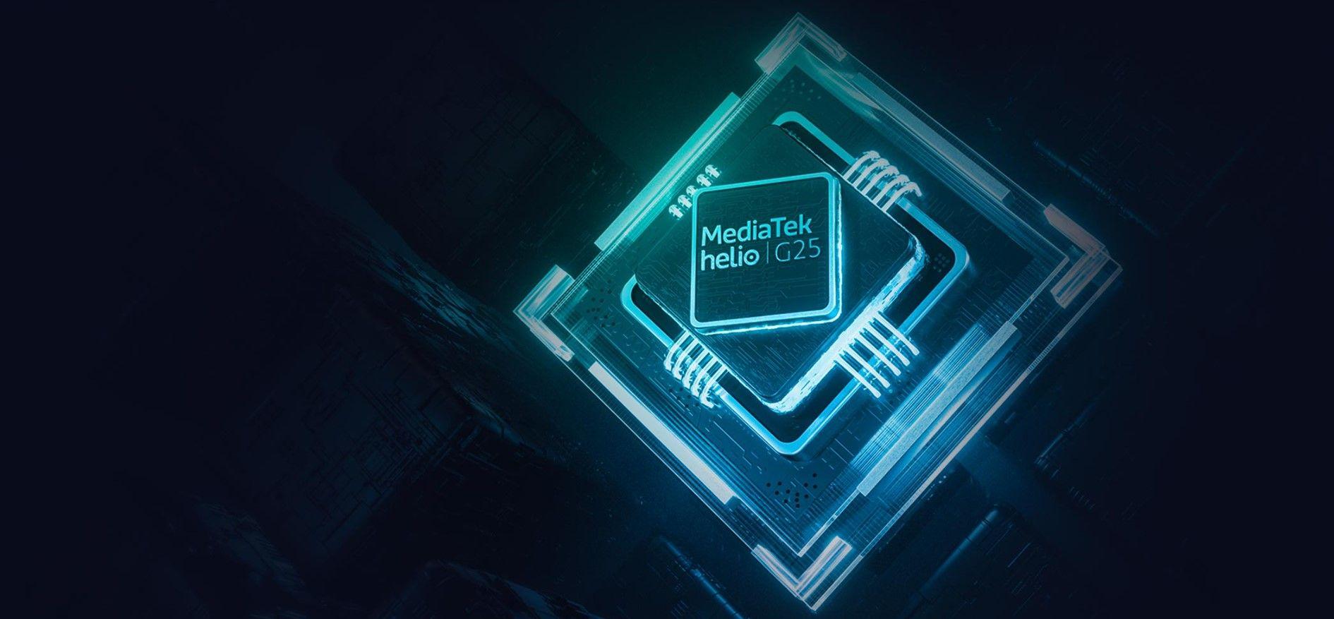 Xiaomi Redmi 9A процессор MediaTek Gelio G25
