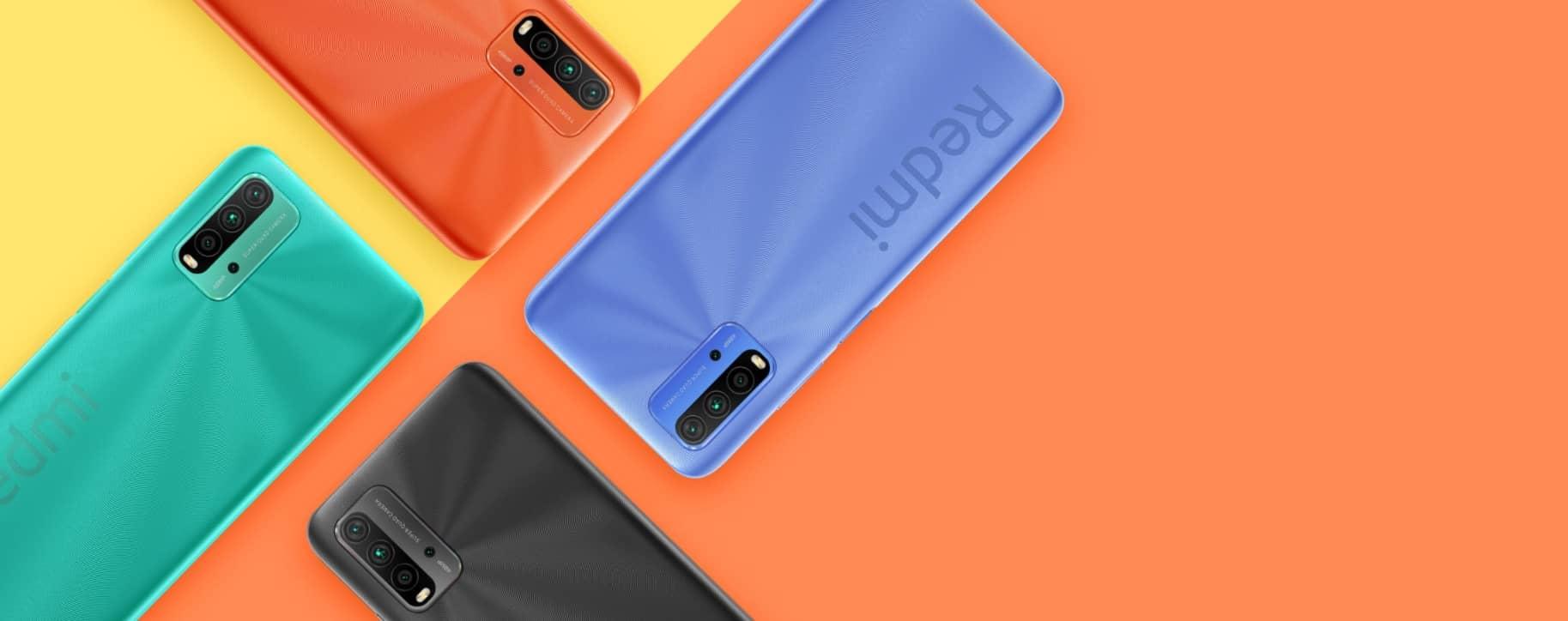 Xiaomi Redmi 9T цвета и дизайн