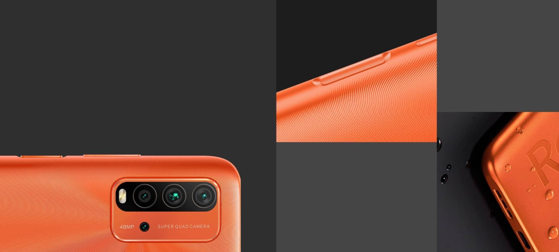Xiaomi Redmi 9T сканер отпечатка пальца