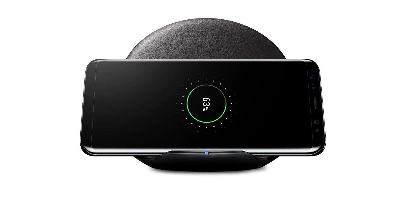 Беспроводная зарядка Samsung EP-PG950 Black обзор